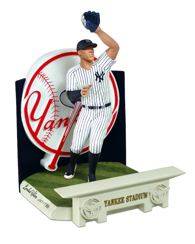 "Aaron Judge 9"" Resin Statue Image"